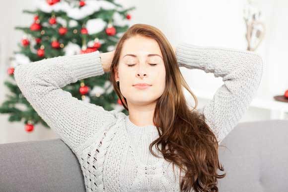 relajarse Navidades