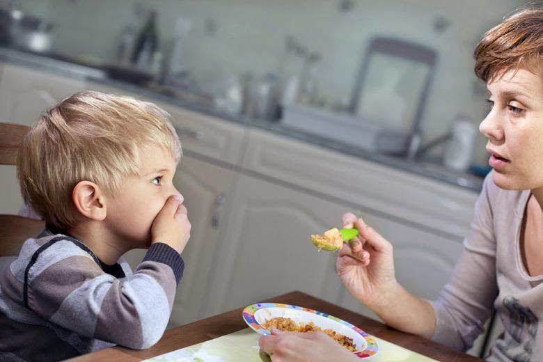 enseñar a comer