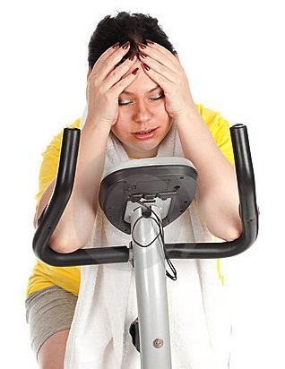 hacer ejercicio sacrificio