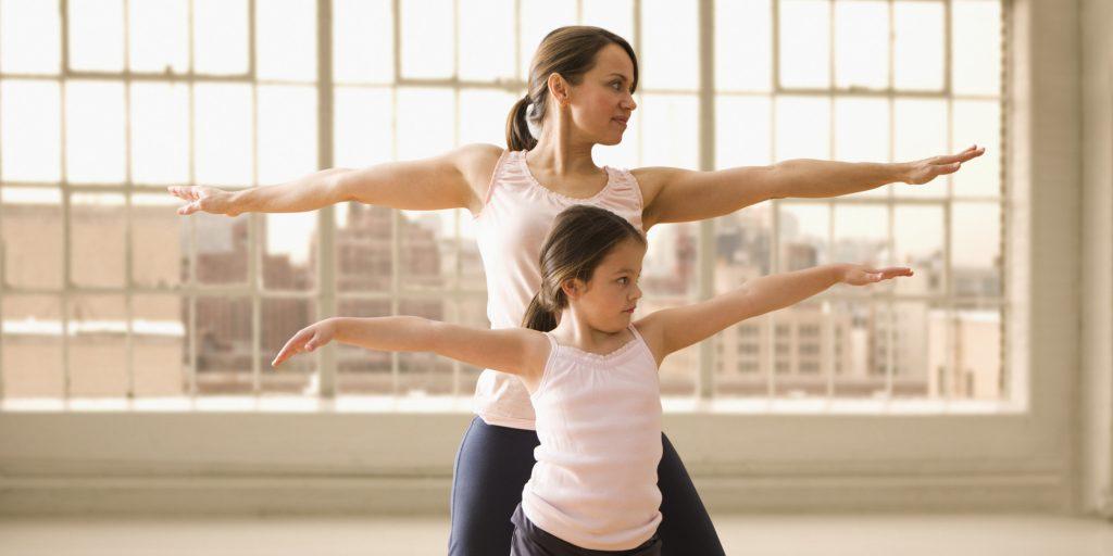 hacer ejercicio hijos