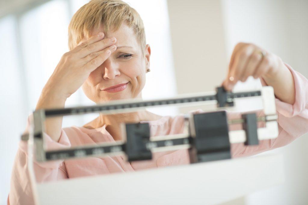 error pérdida de peso