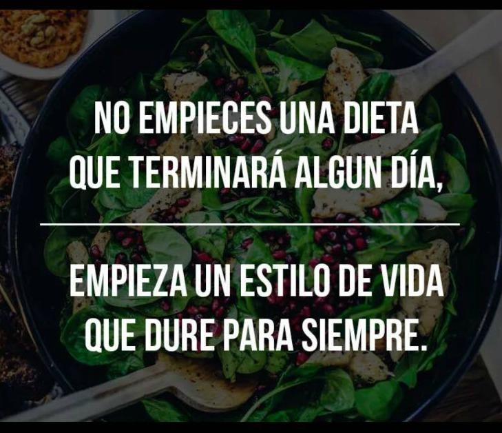 seguir una dieta